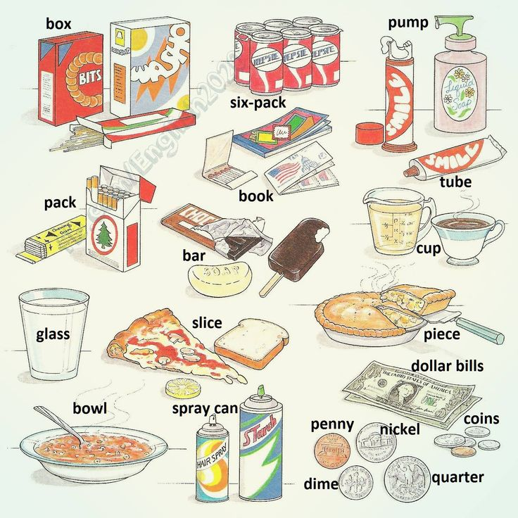Containers & Quantities