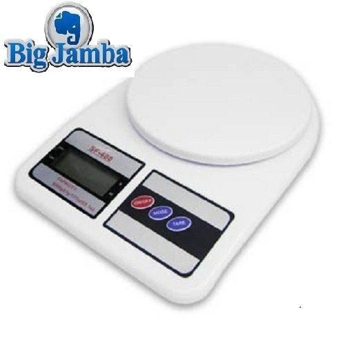 Balança Eletrônica Digital Para Cozinha Pesa De 1gr Até 7kg - R$ 21,90