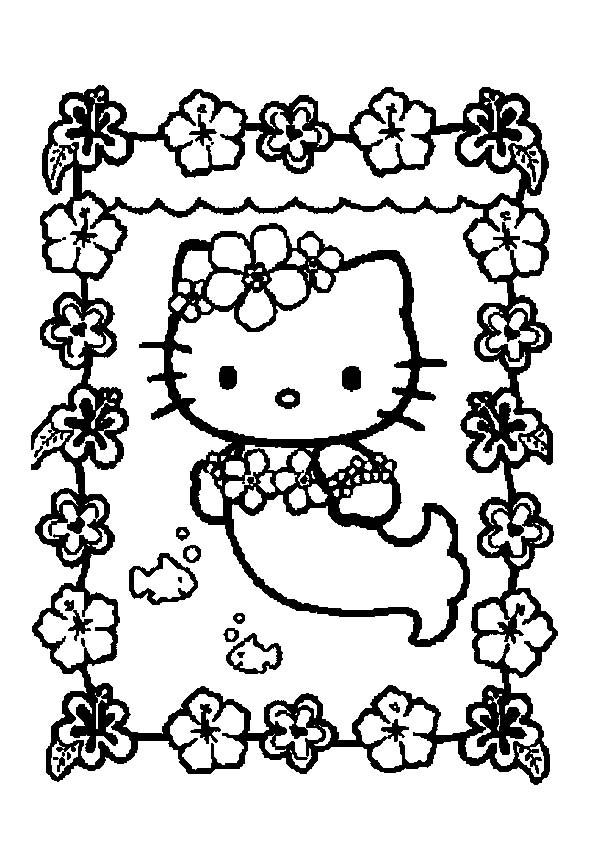 78 besten Coloring-Hello Kitty Bilder auf Pinterest | Hello kitty ...
