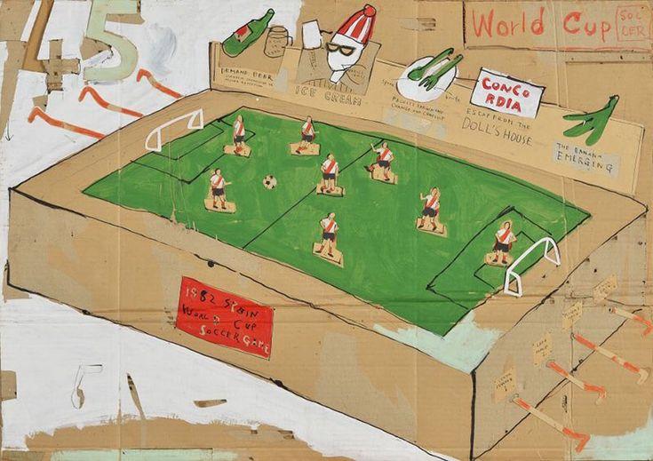 """Present Soccer"" by Katsuhiko Hibino (1982)"