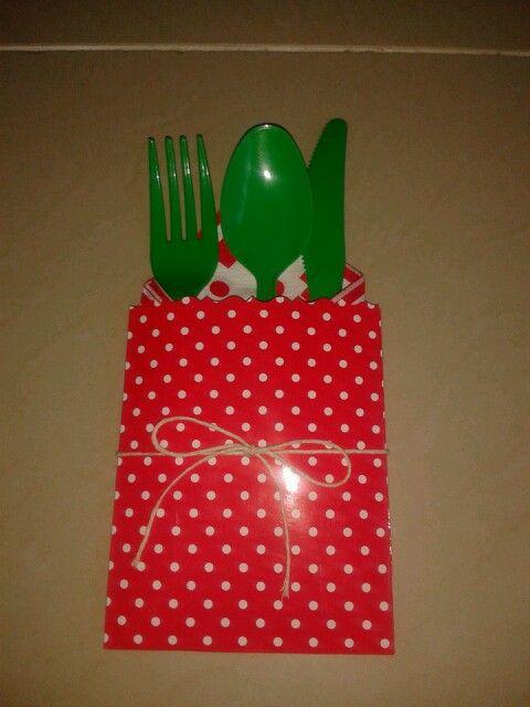 Xmas cutlery
