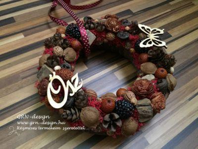 Ajtókoszorúk és otthon szépítő dekorációk