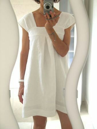 DIY nightgown.  Must try making this