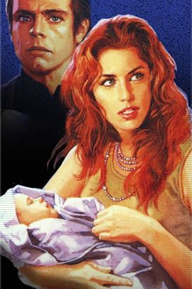 "Luke Skywalker, Mara Jade Skywalker, and their newborn son, Ben Skywalker named after Obi-Wan ""Ben"" Kenobi."