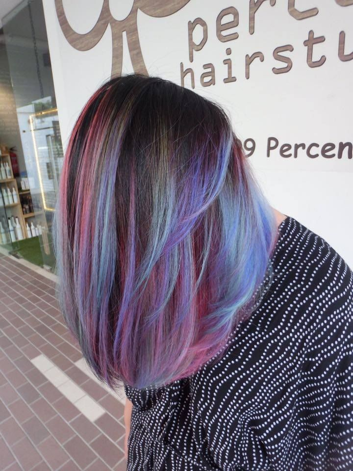 dimensional blue hair color - Google Search