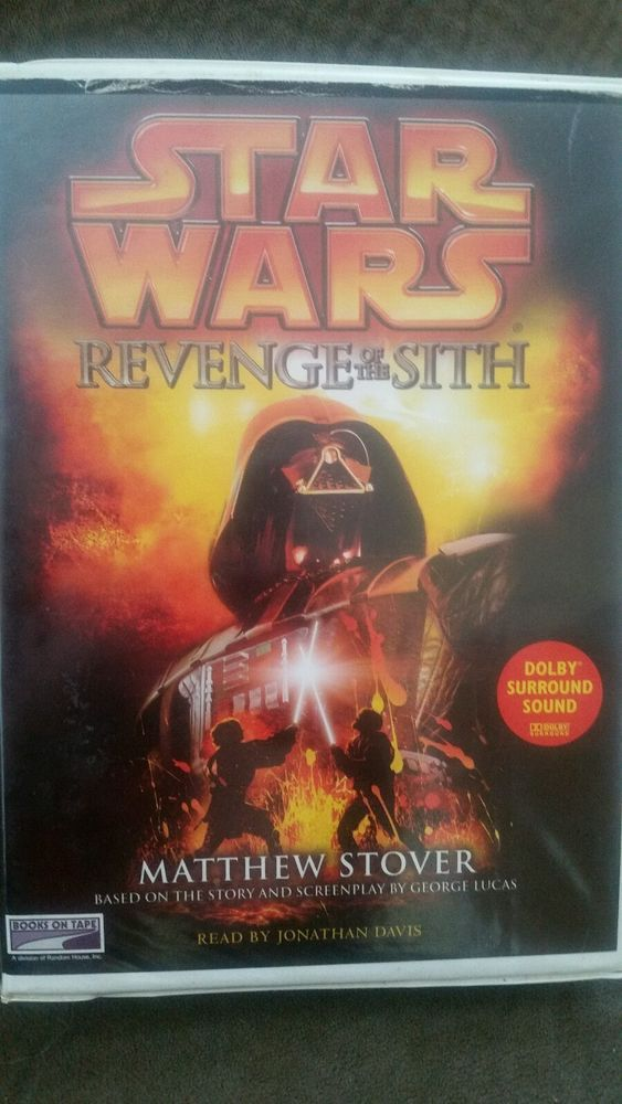 Star Wars Revenge of the Sith audio Dolby Surround Sound Audio Books On Tape | Collectibles, Science Fiction & Horror, Star Wars | eBay!