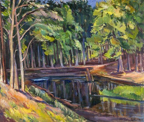 Lesní tůň, 1921