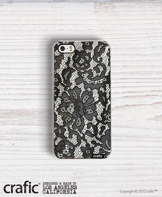 Floralen Spitze IPHONE CASE schwarz  iPhone 6/6 s  von CRAFIC