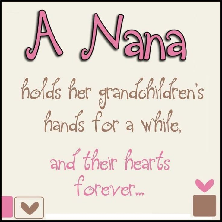 Nana Quotes From Grandchildren a Nana Holds Herlucky Nana Nana Holding ...