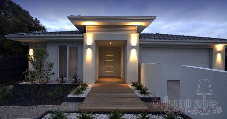 Quel luminaire ext rieur pour clairer une entr e ou un perron de maison 01 luminaire - Luminaire entree maison ...