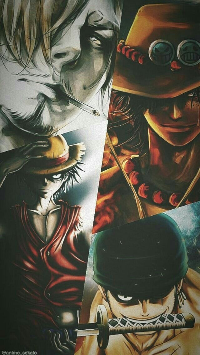 Sanji Ace Luffy And Zoro Animes Wallpapers Personagens
