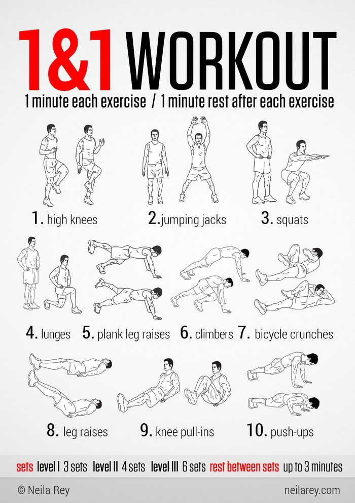 100 no-equipment workouts - Imgur. done a few already, love them! Get the rest from here in one PDF.. to rule them all: http://neilarey.com/100-no-equipment-workouts.html or individually from here: http://neilarey.com/workouts.html