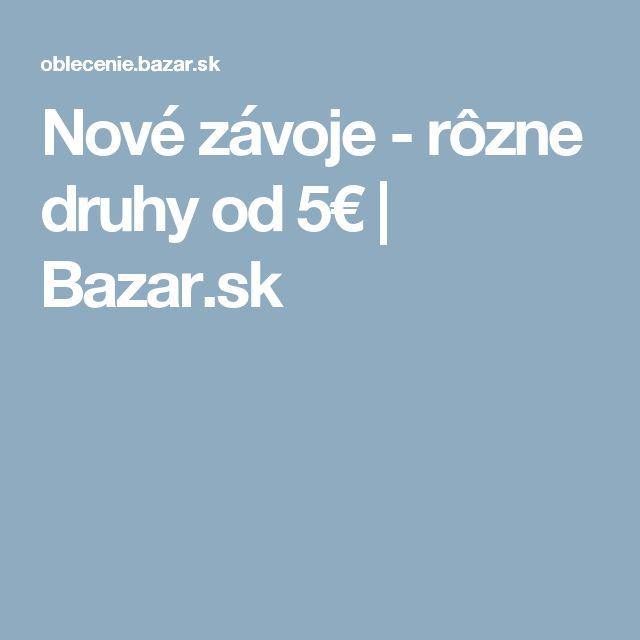 Nové závoje - rôzne druhy od 5€ | Bazar.sk