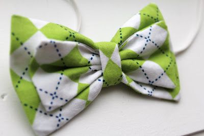 Would be super cute as a bow tie for my little guy or a hair bow for my little girl.