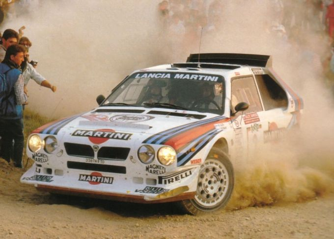 "The Lancia Delta S4 was the ""ultimate"" Group B car before the Championship was banned in 1986."