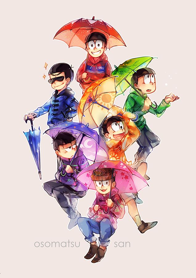 Osomatsu-san is literally my favorite anime--- spread it. let the whOLE WORLD BECOME OSO GIRLS/BOYS