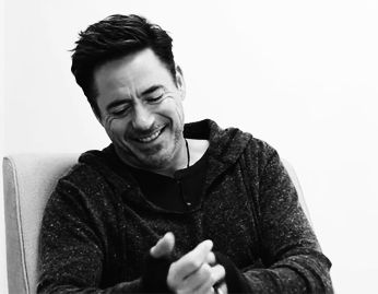 This is just fucking rude. #RobertDowneyJr. | 15 Perfect Smiles You Can't Help But Fall In Love With