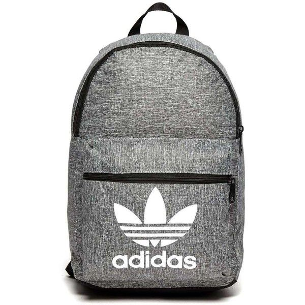 adidas Originals Classic Melange Backpack ($32) ❤ liked on Polyvore featuring men's fashion, men's bags, men's backpacks and adidas originals