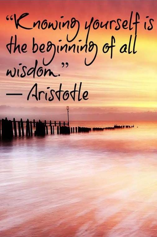 Knowing yourself is the beginning of all wisdom. – Aristotle #quote #aristotle #meditation #yoga #awareness #consciousness #spiritual #positiveenergy #manifestation #healing #enlightenment #powerthoughtsmeditationclub