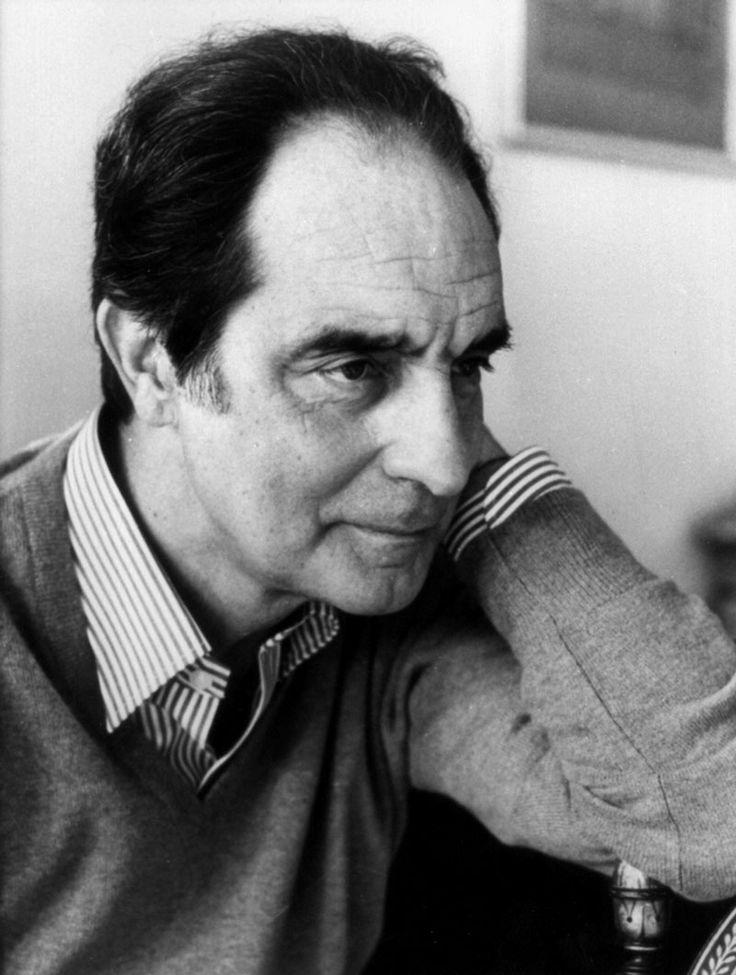 The great italian writer Italo Calvino