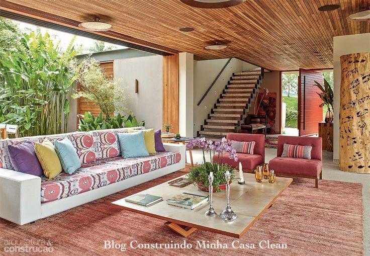 30 casas de campo decoradas veja dicas do r stico moderno for 15 x 18 living room ideas