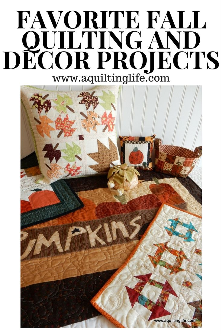 Fall Quilting Projects | A Quilting Life - a quilt blog