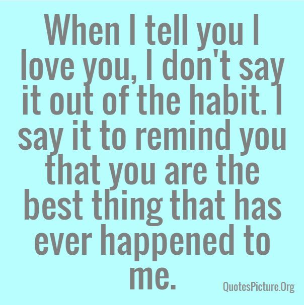 The Habit Nice Love Pictures Quotes For Him 2016