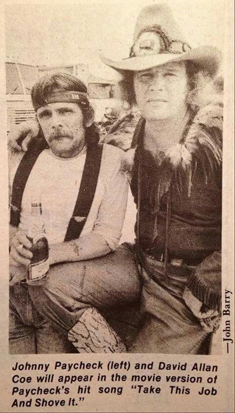 Johnny Paycheck & David Allan Coe
