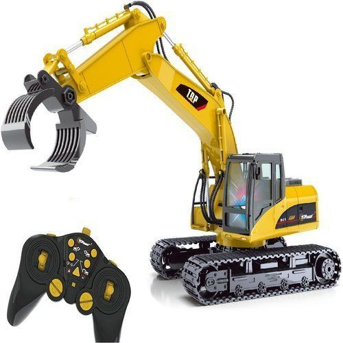 Model Toys RC Car Fork Excavator Construction 15 Channel Metal Charging   Toys & Hobbies, Radio Control & Control Line, RC Model Vehicles & Kits   eBay!