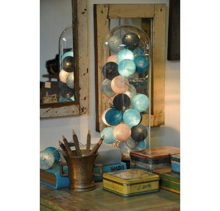 Světelný řetěz Snowball, 20 kuliček | Bonami