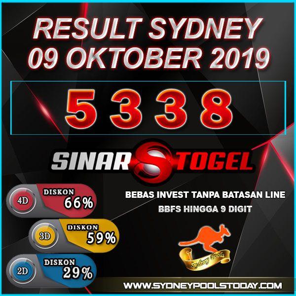 Sydney Prize Result