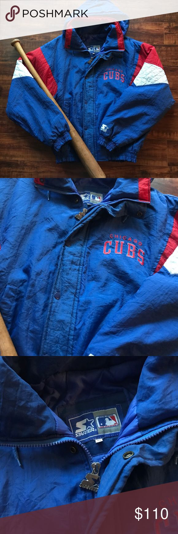 Starter Chicago Cubs jacket Starter Chicago Cubs jacket  Size M  Just in amazing condition Unisex Jackets & Coats