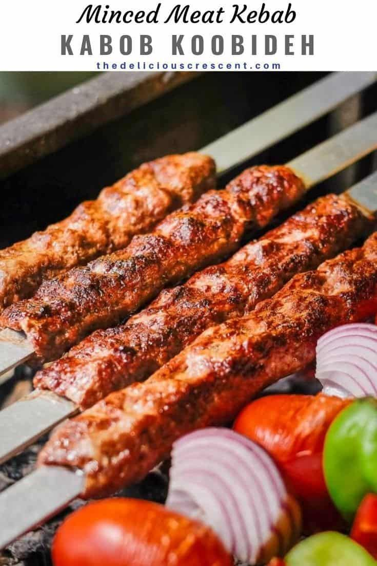 Koobideh Kabob Are The Most Juicy And Amazingly Flavorful Middle Eastern Ground Meat Kebabs Ever This Classic Kebab Recipes Persian Kabob Recipe Persian Food