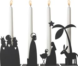 Pluto Produkter Crib Candle Holders at Northlight