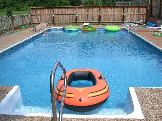 Rectangle Inground Swimming Pool Kits | Royal Swimming Pools