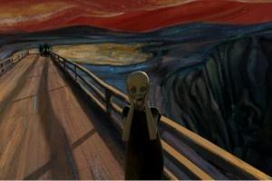 The Scream in animation  http://www.artlandian.com/video-art/the-scream-in-animation