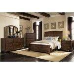 Coaster Furniture - Laughton 5 Piece California King Sleigh Bedroom in Cocoa Brown - 203260KW-5SET #coasterfurniturebrown