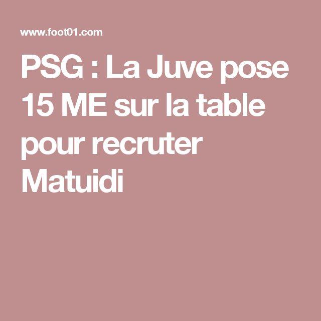PSG: La Juve pose 15 ME sur la table pour recruter Matuidi