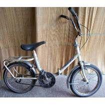 Antigua Bicicleta Plegable P/ Niño Tipo Graziella Rodado 16