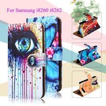 Окрашенные PU Кожаный Случаи Чехлы Для Samsung Galaxy Core I8260 I8262 крышка 4.3 дюймов GT-I8262 8260 GT i8262 8262 Телефон Case Корпус //Цена: $US $3.32 & Бесплатная доставка //  #technology #tech