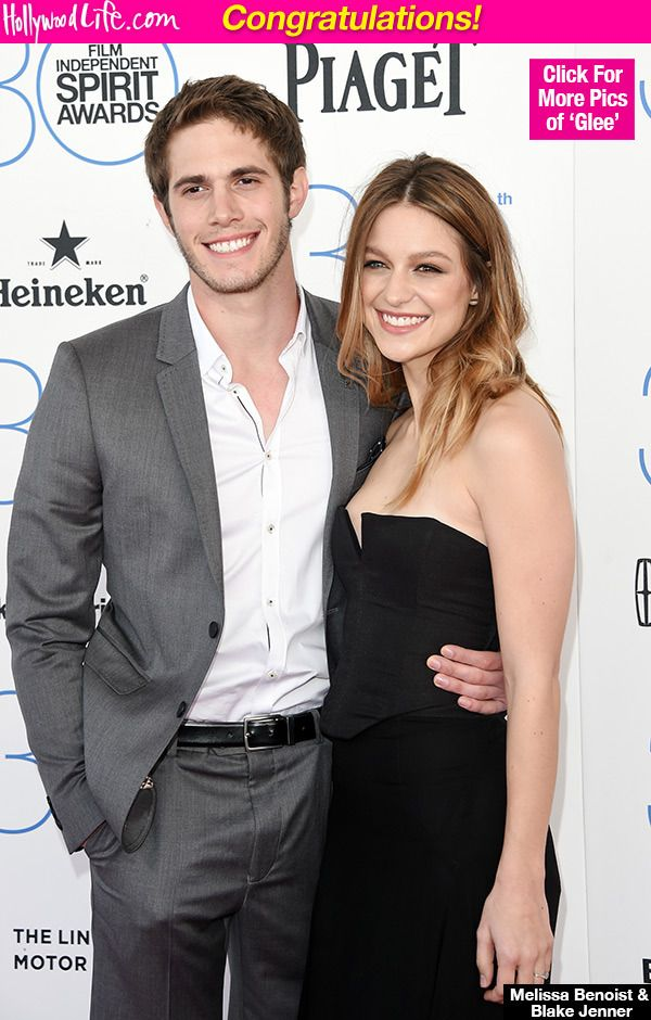 Way to keep a secret! Formerly engaged couple -- and 'Glee' costars -- Melissa Benoist and Blake Jenner are married, you guys! The adorable duo exchanged vows on the sly 'several months' ago -- allegedly.