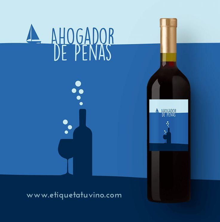 Un Vino Personalizado, el mejor remedio para un mal día.