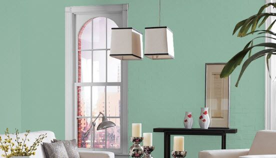 Popular this week restful sw 6458 green paint color by - Best temperature for painting exterior ...