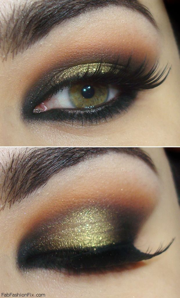 Makeup: How to do classic smokey eye makeup look tutorial?