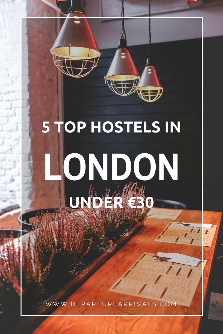 5 Top Hostels In London Under 30 Euro