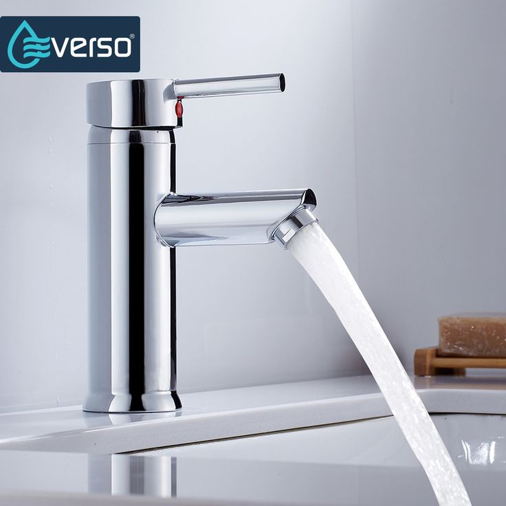 Home Kitchen Bathroom Basin Sink Water Faucet Single Handle Hot Cold Water Mix Faucets Wash basin Tap
