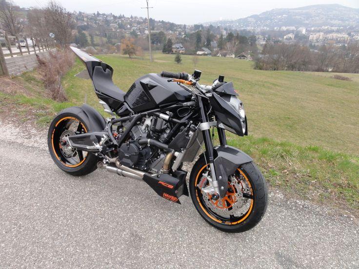 Motorcycles - KTM RC8 Street Bike - Hubby's dream