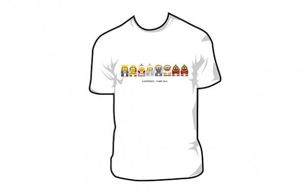 "Diseño de camiseta ""Comparsa Gigantes"" San Fermín - Pamplona 15€ www.beatrizripodas.com"