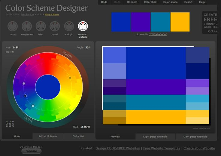 great color wheel app colorschemedesignercom - Color Scheme Designercom