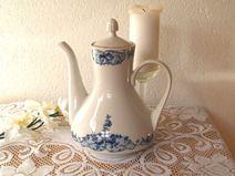 Kaffeekanne Weimarer Porzellan Vintage